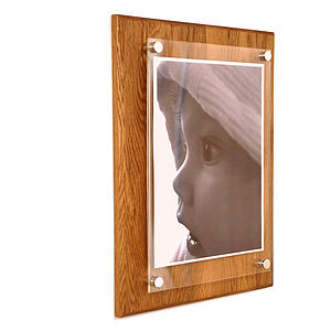 Large Oak Picture Frame