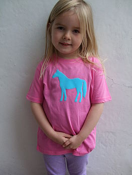 Horse T Shirt Organic Cotton