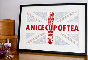 Quintessentially British Print