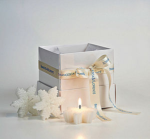 Set Of Three Snowflake Candles - lighting