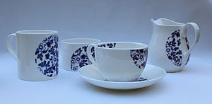 Daisies Bone China Teaware - kitchen
