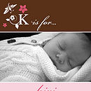 20 Dragonfly Birth Announcement Cards