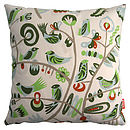 Bird tree cushion