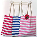 Regatta Stripe Shopper Bag