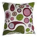 Protozoa cushion copy