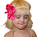Button & Bows Kids Hair Accessory