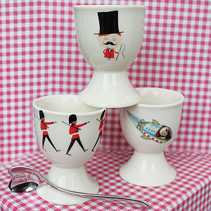 Circus Ringmaster Egg Cup