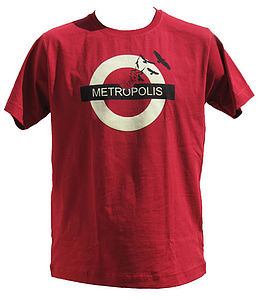 Metropolis T Shirt - get the message