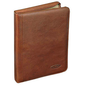 Luxury Italian Leather Conference Folder 'The Dimaro' - bags & cases
