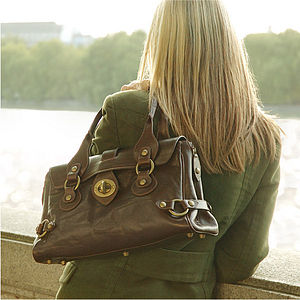 'Claudia' Italian Leather Handbag - bags & purses