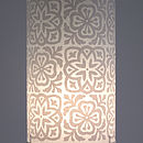 Moroccan Tile Lampshade