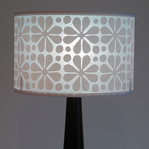 Parade Flower Lampshade - table & floor lamps