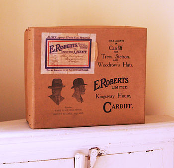 Vintage Hat Box For Storage