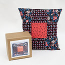 V&A Liberty Print Cushion Cover Sewing Kit