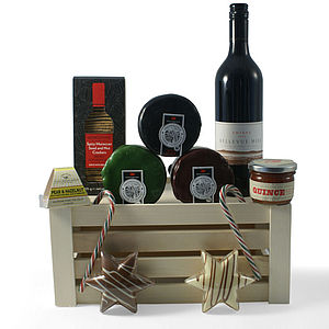 Christmas Cheese Crate