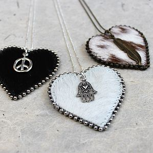 Suzy Heart Pendant Necklace