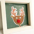 Rudolf without personalisation