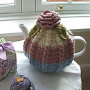 Handmade Rosy Tea Cosy