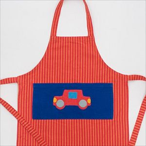 Fair Trade Car Apron - children's cooking