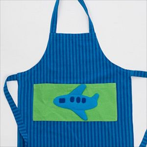 Fair Trade Plane Apron - children's cooking