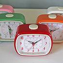 Retro Bakelite Style Alarm Clocks
