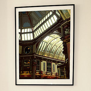 'Leadenhall Market London' Print - architecture & buildings