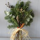 Fresh Rosemary 'Remembrance' Flat Posy