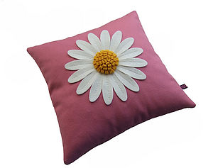 Daisy Cushion - patterned cushions