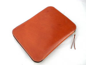 Bridle Leather Document/ Laptop Wallet