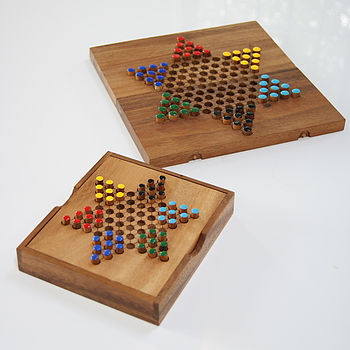 Traditional Wooden Games