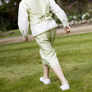 Silk Sailor Shorts For Pageboys