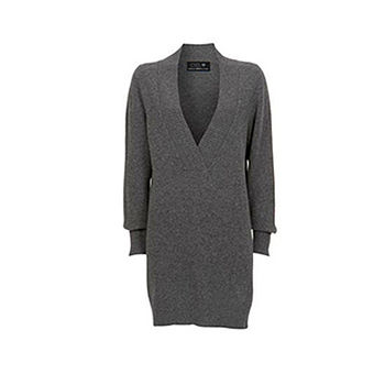 Lambswool Ash Grey Sweater Dress