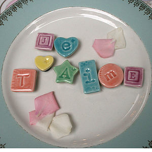 Je T'aime Magnets - kitchen
