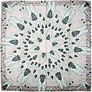 Craig fellows - silk scarf conspiresy of flies flat