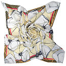 Ohh Poppy Square Silk Scarf