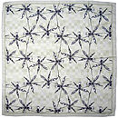 Craig fellows - silk scarf orkid flat