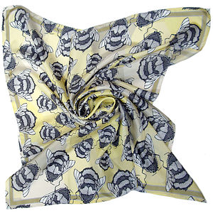 Runny Honey Square Silk Scarf - our top summer scarves