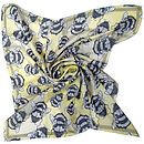 Runny Honey Square Silk Scarf