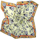 'Shoo Fly Shoo' Square OR Long Silk Scarf