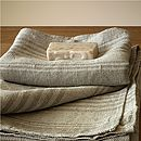 Rustic Look Huckaback Bath Towel Linum