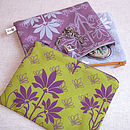 Floral Organic Printed Large Purse