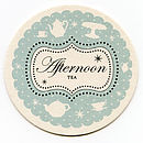 Afternoon Tea Coaster Invitations