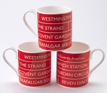 Bus Destination Mug