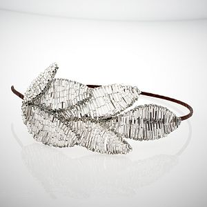 Grecian Leaf Headband