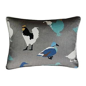 Chick And The Duck Cushion - cushions