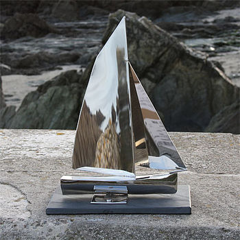 Troy Yacht Sculpture