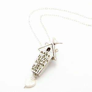 'Little Birdhouse In Your Soul' Necklace