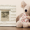 Musical Note Frame