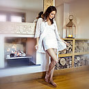 Tallulah Lace Robe