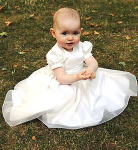 Baby Alice Flower Girl Or Christening Dress - christeningwear